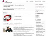 clp-finance.de Webseite Vorschau
