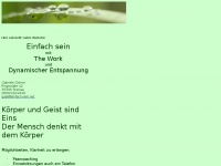 einfach-sein.net Webseite Vorschau