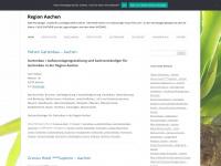 stadtinfo-aachen.com Webseite Vorschau