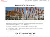 cdu-michendorf.de Webseite Vorschau