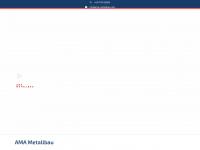 ama-metallbau.com Webseite Vorschau