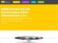 kita-gaenseblume.de Webseite Vorschau