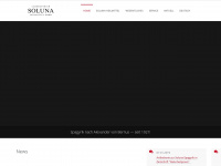 soluna.de Webseite Vorschau