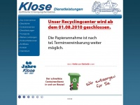 klose-dienstleistungen.de