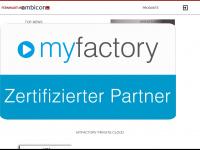 ambicon.net Webseite Vorschau