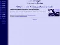 ahrensburger-kammerorchester.de