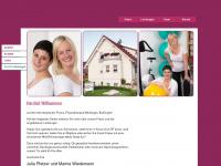 physio-merdingen.de Webseite Vorschau