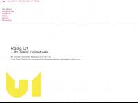 u1-radio.at Webseite Vorschau