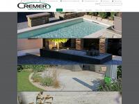 cremer-naturstein.de Webseite Vorschau