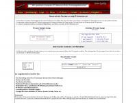 xcounter.ch Webseite Vorschau
