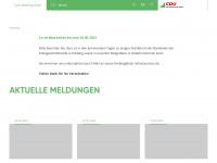 cdu-mittelsachsen.de Webseite Vorschau