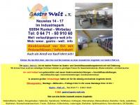 gastro-welt.info Webseite Vorschau
