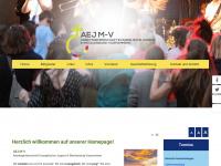 aej-mv.de Webseite Vorschau