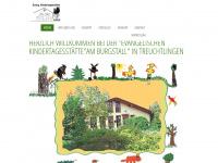kita-burgstall.de Webseite Vorschau