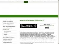 kirmes-mackenzell.de Webseite Vorschau