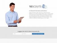 10scouts.com Webseite Vorschau