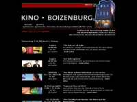 kino-boizenburg.de Webseite Vorschau