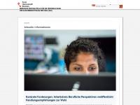 zgf.bremen.de Webseite Vorschau