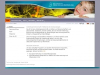 kinderimmunologie.de Webseite Vorschau