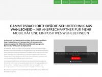 Gammersbach-orthopaedie.de