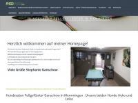 ganschow.com Webseite Vorschau