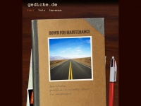 gedicke.de