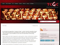 tcgc.de Webseite Vorschau