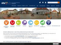 kvhs-uckermark.de Webseite Vorschau