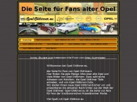 opel-oldtimer.eu Webseite Vorschau