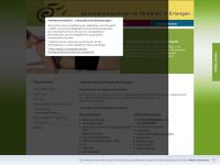 physiotherapie-in-erlangen.de Webseite Vorschau