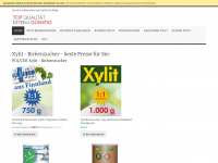 xylit-echt-billig.de Webseite Vorschau