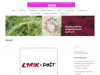 lyrikgesellschaft.de