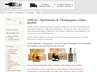 18flaschen.de Webseite Vorschau