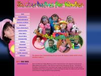 zauberhaftes-fuer-kinder.de Webseite Vorschau