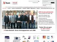 xteam-shop.de Webseite Vorschau