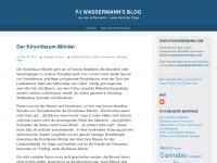 pjwassermann.wordpress.com Webseite Vorschau
