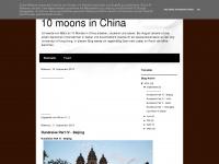 10moonsinchina.blogspot.com Webseite Vorschau
