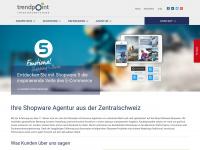 trendpoint.ch Webseite Vorschau