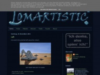 lomartistic.blogspot.com Webseite Vorschau