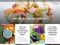 vegetarian-only.de Webseite Vorschau