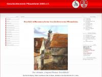 gv-pflaumheim.de Webseite Vorschau