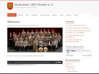 mv-hoerstein.de Webseite Vorschau