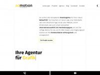 admotion.ch Webseite Vorschau