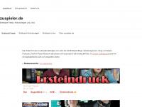 zuspieler.de Webseite Vorschau