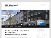 kiq-duesseldorf.de Webseite Vorschau