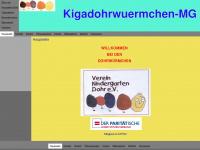 kigadohrwuermchen-mg.de Webseite Vorschau