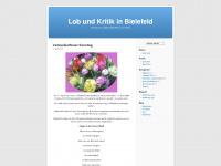 lobundkritikinbielefeld.wordpress.com Webseite Vorschau