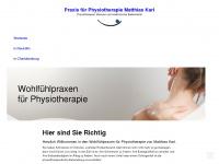 physiotherapie-karl.de Webseite Vorschau