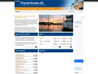 charterboote.de Webseite Vorschau