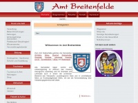 amt-breitenfelde.de Webseite Vorschau